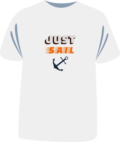 "Tricou ""Just Sail"""