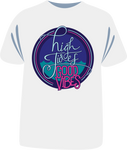"Tricou sailing ""High tides good vibes"""