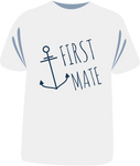 "Tricou sailing ""First Mate"""