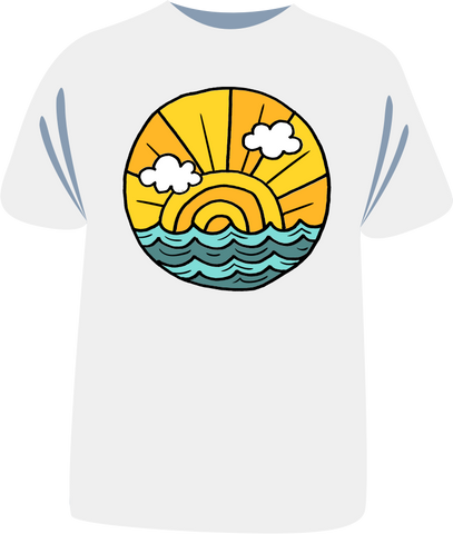 "Tricou sailing copii ""Sunrise"""