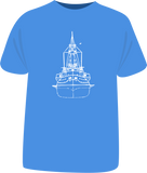 "Tricou sailing ""Blueprint"""