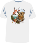 "Tricou sailing ""The Skull of a Sailor"""