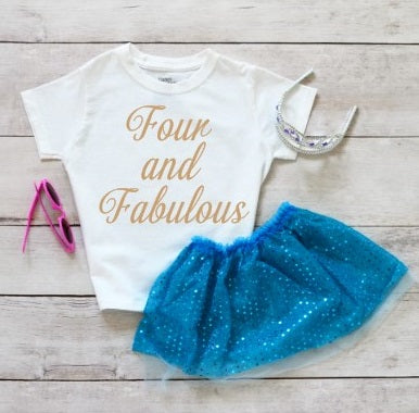 Four And  Fabulous Shirt