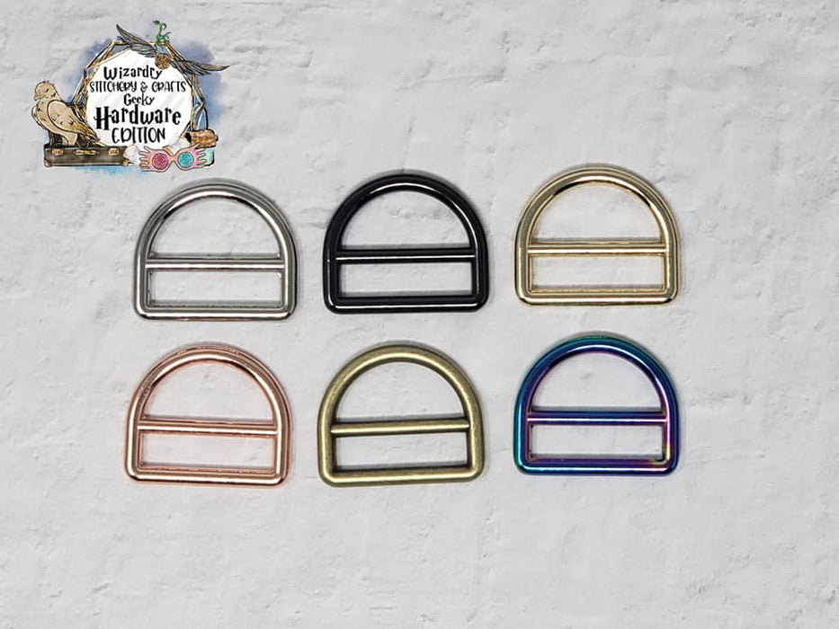 "1"" Buckle D-Rings (Single)"