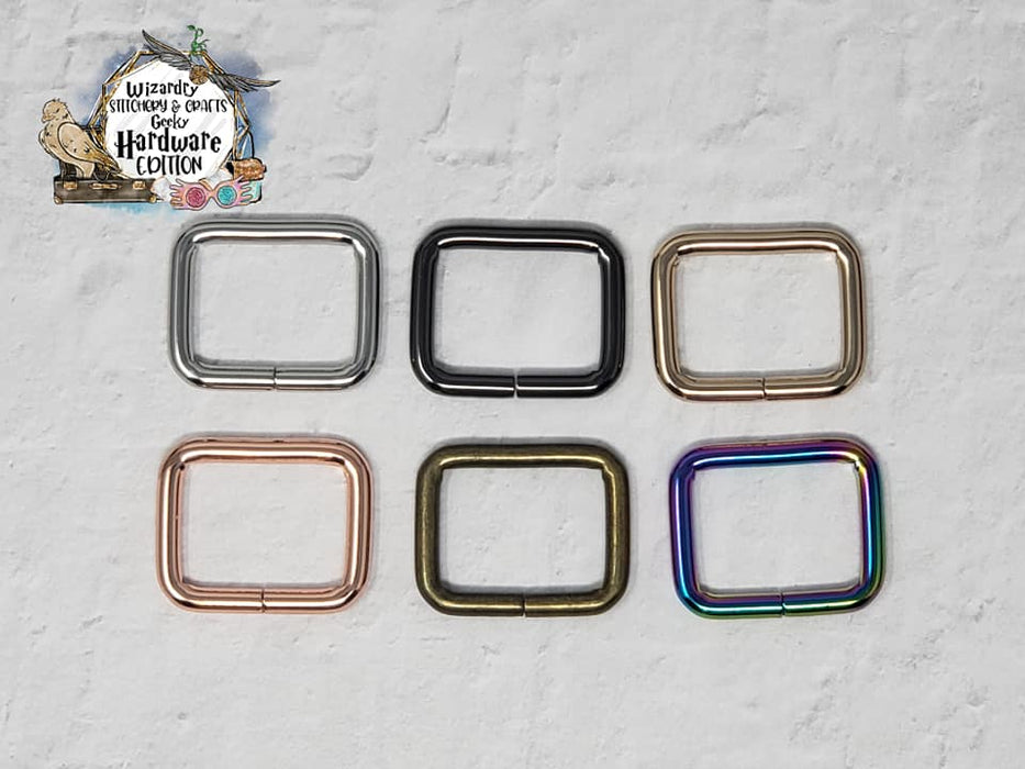 "1"" Rectangle Rings (Single)"