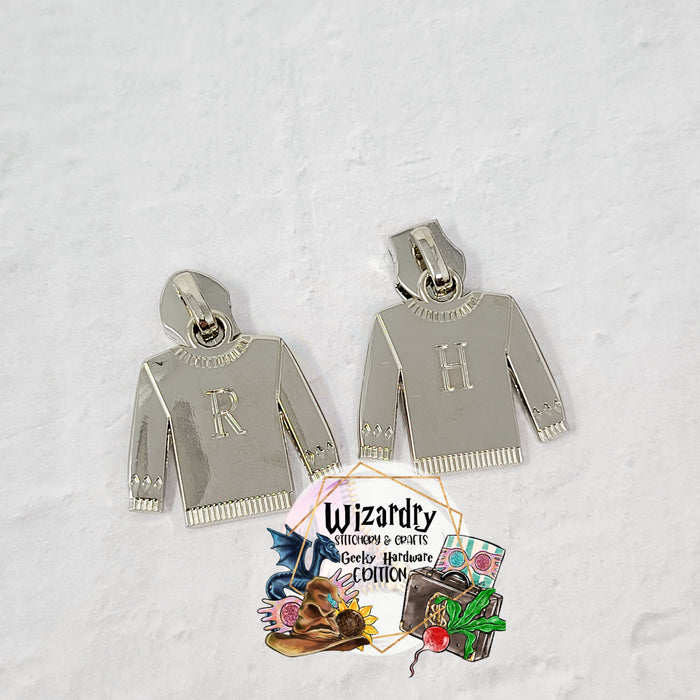 Christmas Sweater #5 Nylon Zipper Pulls