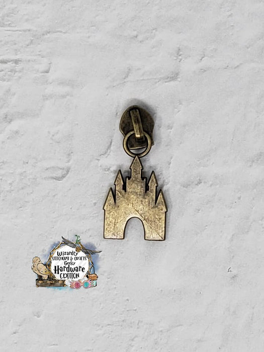 Castle #5 Nylon Zipper Pulls