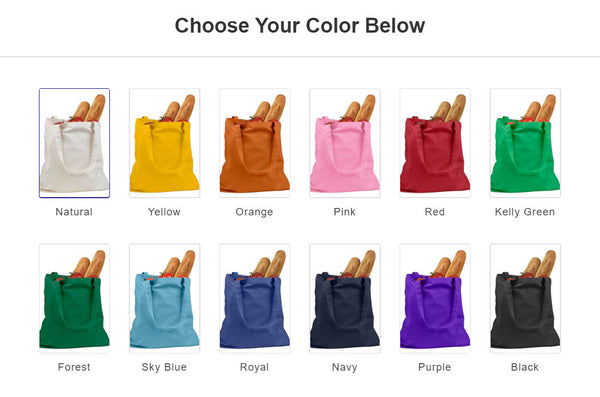 Use Less Plastic 100% Cotton Tote Bag