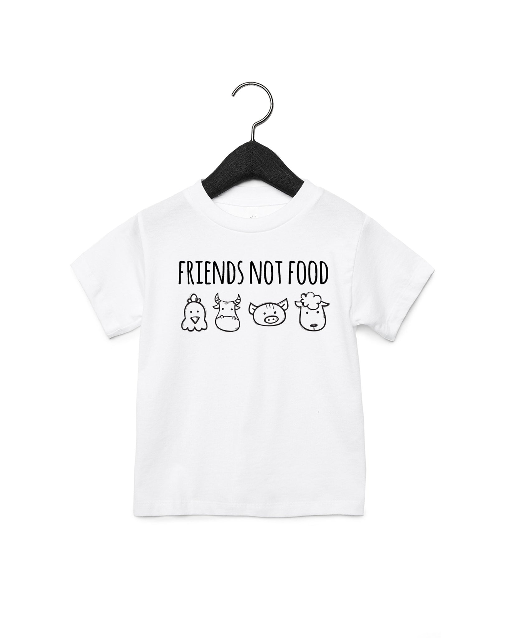 Friends Not Food Children's T-shirt