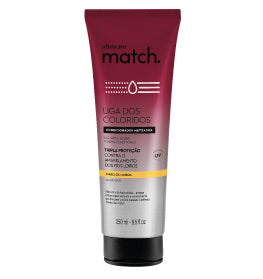 Match Color Protection League Conditioner for Blondes Hair 250ml - O Boticario