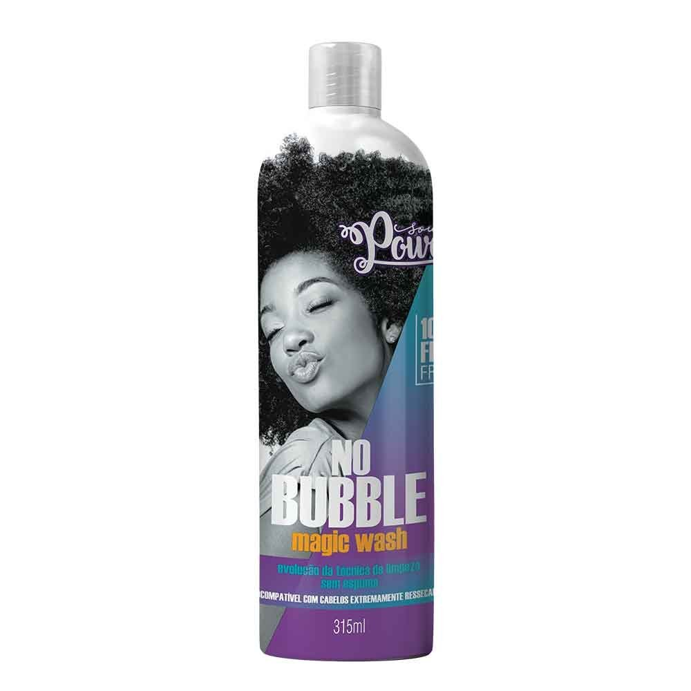 Soul Power Todos os tipos de curvatura - Shampoo no Bubble 315ml