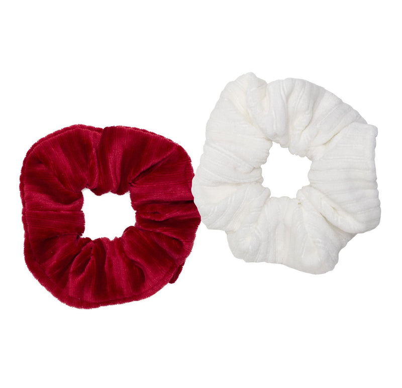 Candy Cane Corduroy Scrunchie Set *HOLIDAY EXCLUSIVE*