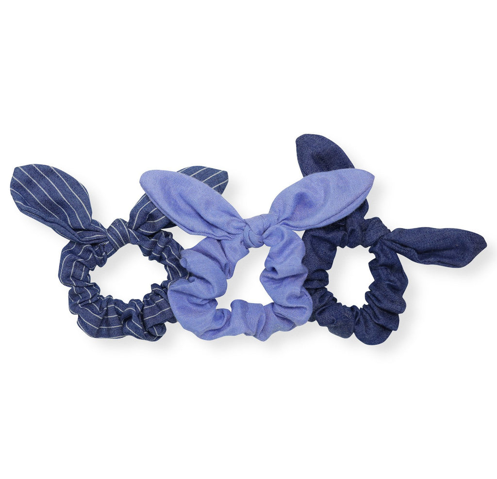 Denim on Denim Scrunchie Set