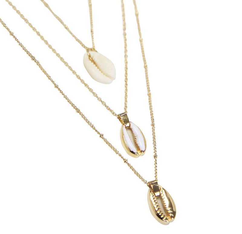 Shell Me About It Layered Necklace