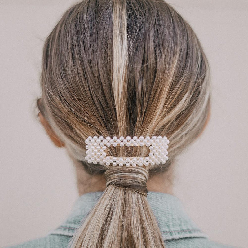 Purely Pearl Hair Clip Set