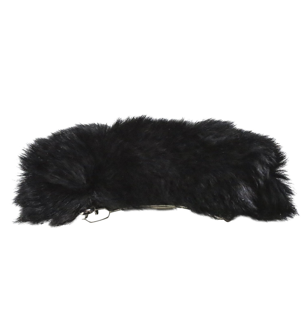 Can't Be Tamed Faux Fur Barrette