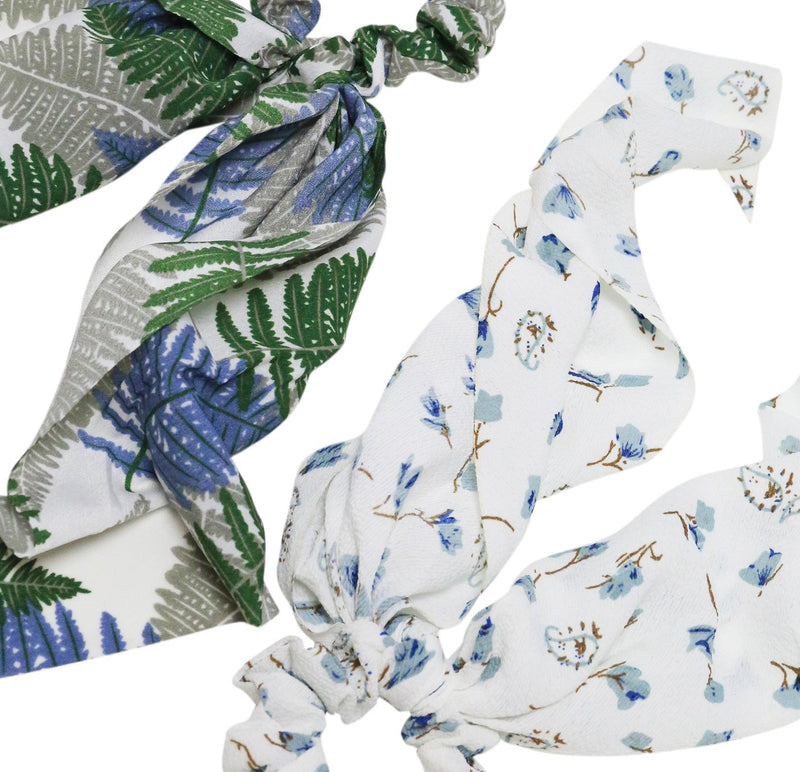 Under the Palms Scarf Scrunchies