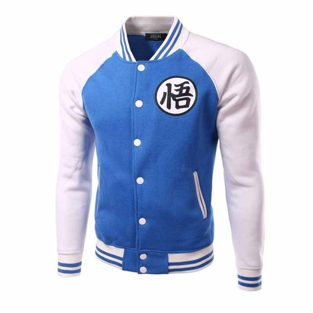 Brand Dragon Ball Baseball Jacket Men 2016 Mens Anime Comic Cosplay Varsityeticdress-eticdress