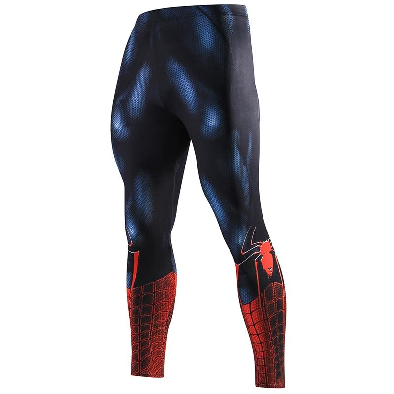ZRCE New High Quality Men Skinny Pants 3D Pattern Superman Ironeticdress-eticdress