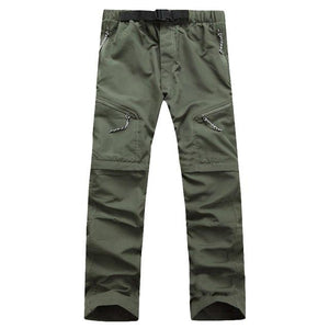 Quick Dry Outwear Pants Men Removable FishingHikingCamping Breathable Pants Men UV Protectioneticdress-eticdress