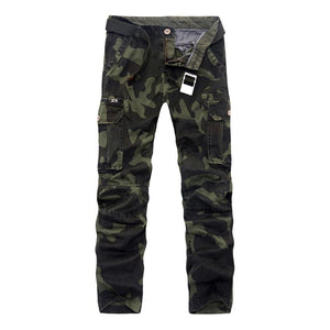 2017 spring men cargo pants military pants mens army green trousers withouteticdress-eticdress