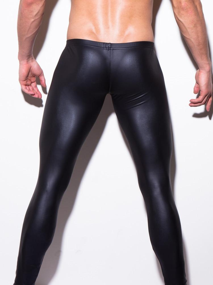 Sexy Men Low-rise U Bulge Pouch Night Club Stage Performance Tights Bodyweareticdress-eticdress