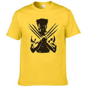 X-Men Wolveriner T Shirt Men Women Summer Cotton Printed Superhero Short Sleeveeticdress-eticdress