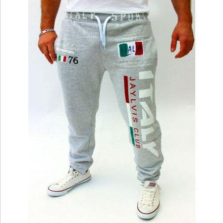 Free shipping casual pants Italian flag printing design casual pants large sizeeticdress-eticdress