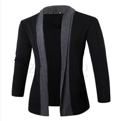 2017 Hot sale Jacket Men coat wool long sleeve slim Lapel collareticdress-eticdress