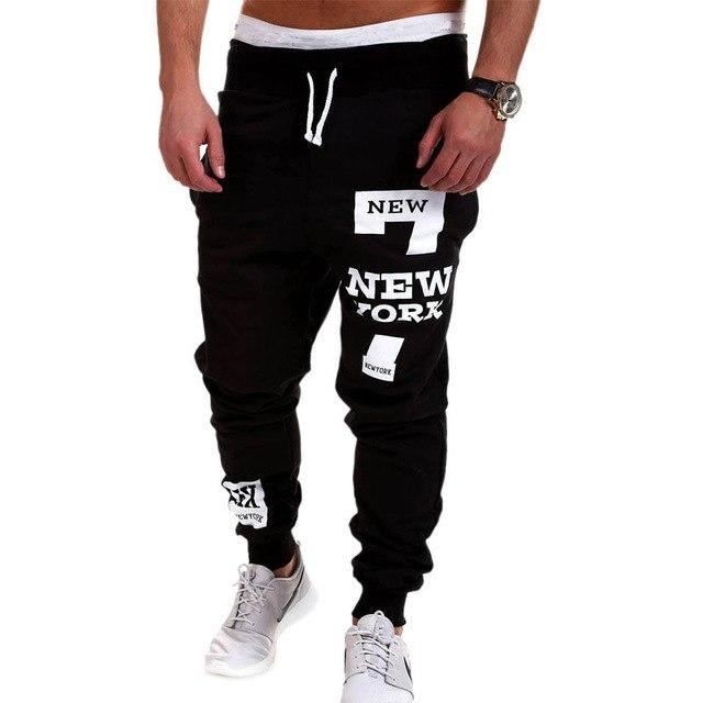 Newest Arrivals Fashion Hot Men's Casual Loose Baggy Pants Street Elasticeticdress-eticdress
