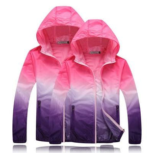 Ultralight jacket Color Windbreaker Coat UVproof Clothing Female sunscreen Male Largeeticdress-eticdress