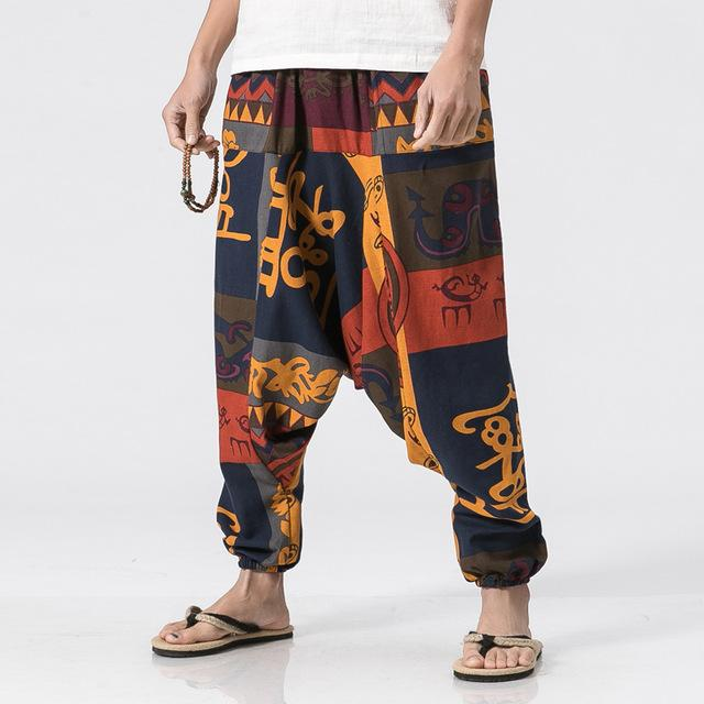 2018 Punk Street men Cross Pants Low Rise Lantern Pants Mens Ultralargeeticdress-eticdress