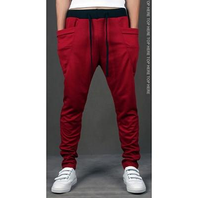 Men Joggers 2018 Big Pocket Hip Hop Trousers Men's Harem Pencileticdress-eticdress