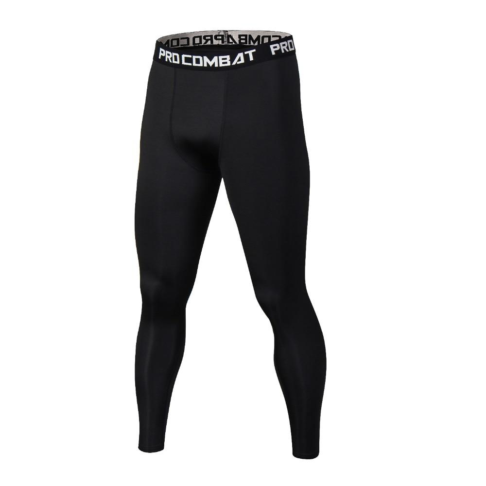Pure Color Men Compression Pants Bodybuilding Joggers Fitness Quick Dry Skinny Leggingseticdress-eticdress