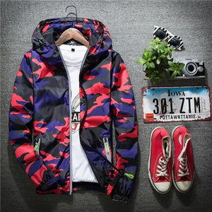 2018 New Autumn Men Bomber Jackets Casual Thin Hooded 3m Reflective Summereticdress-eticdress