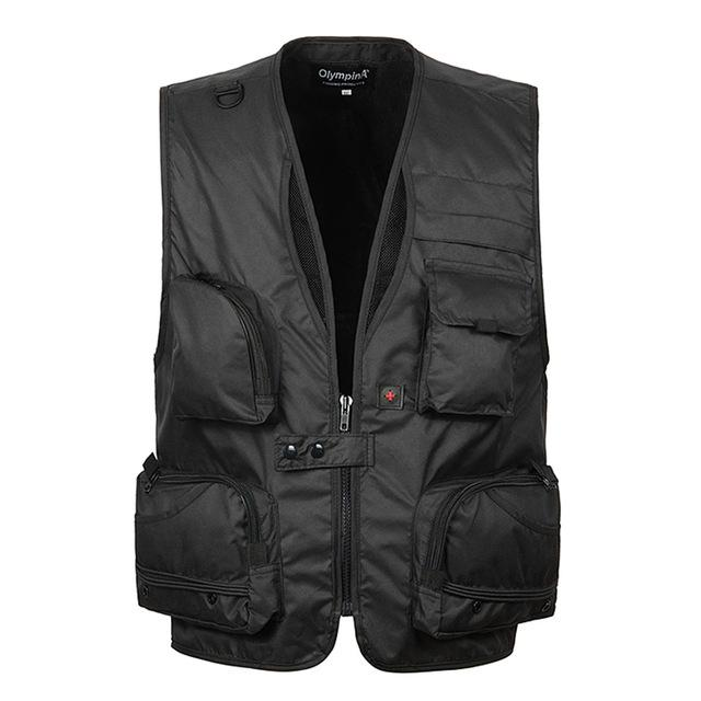 Summer Baggy Sleeveless Jacket For Men With Many Pockets Male Casual Breathableeticdress-eticdress
