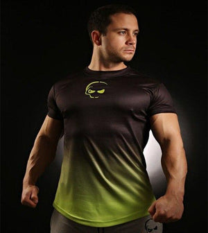 2018 New Top quality compression t-shirts skull changes color gyms t shirteticdress-eticdress