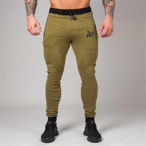2018 autumn and winter men's pure cotton pants, new gyms fitness pantseticdress-eticdress
