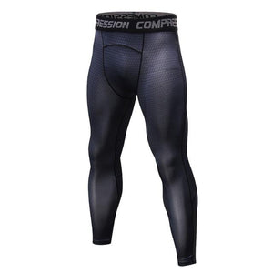 2018 Mens Compression Pants Brand New 3D Printed Quick Dry Bodysuit Leggingseticdress-eticdress