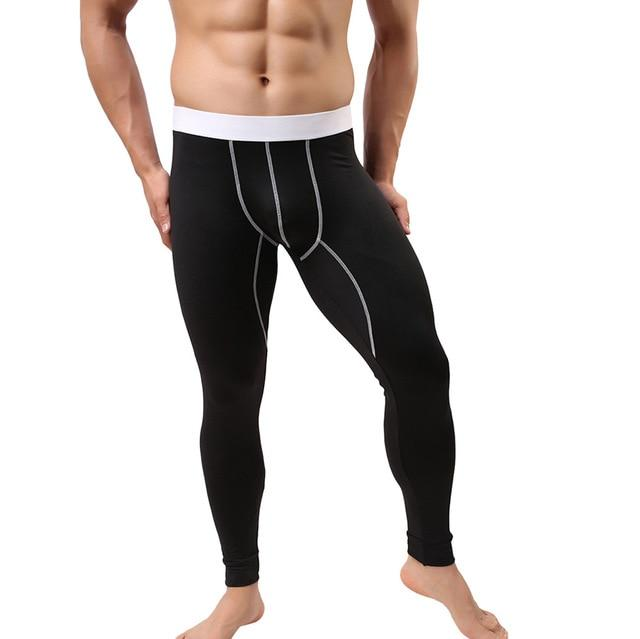 High Quality Men's Baselayer Underwear Warm Cotton Legging Pants Thermal Breathable Comfortableeticdress-eticdress