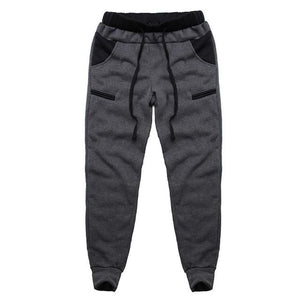 Winter Warm Thick Sweatpants Men's Track Pants Elastic Casual Baggy Lined Tracksuiteticdress-eticdress