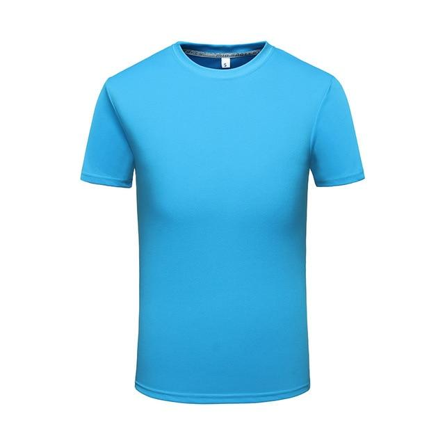 quick dry t-shirts casual man O-neck dry fit tshirt custom logo Teeeticdress-eticdress