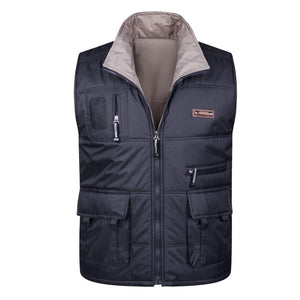 Winter Thick Warm Cotton Vest For Men Spring Autumn Male Casual Multieticdress-eticdress