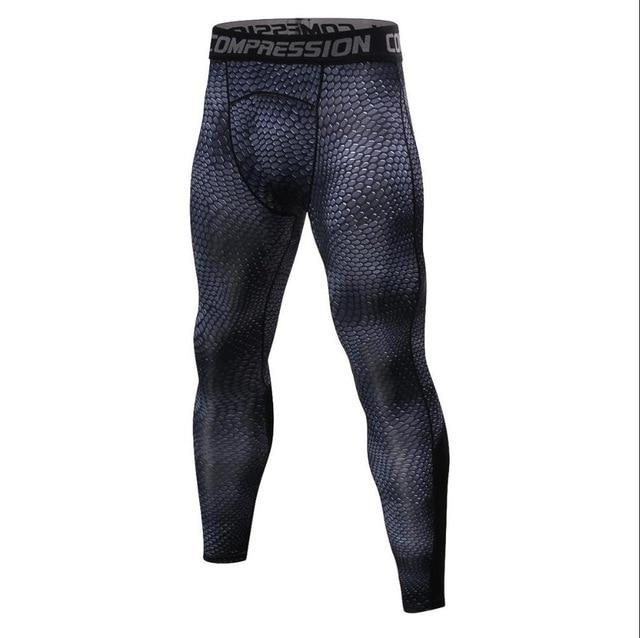 2018 New Compression muscle Elastic Pants Workout Tights Men Leggings Fitness Geticdress-eticdress
