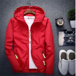 New Men's Casual Hooded Bomber Jacket Spring Autumn Hip Hop Plus Sizeeticdress-eticdress