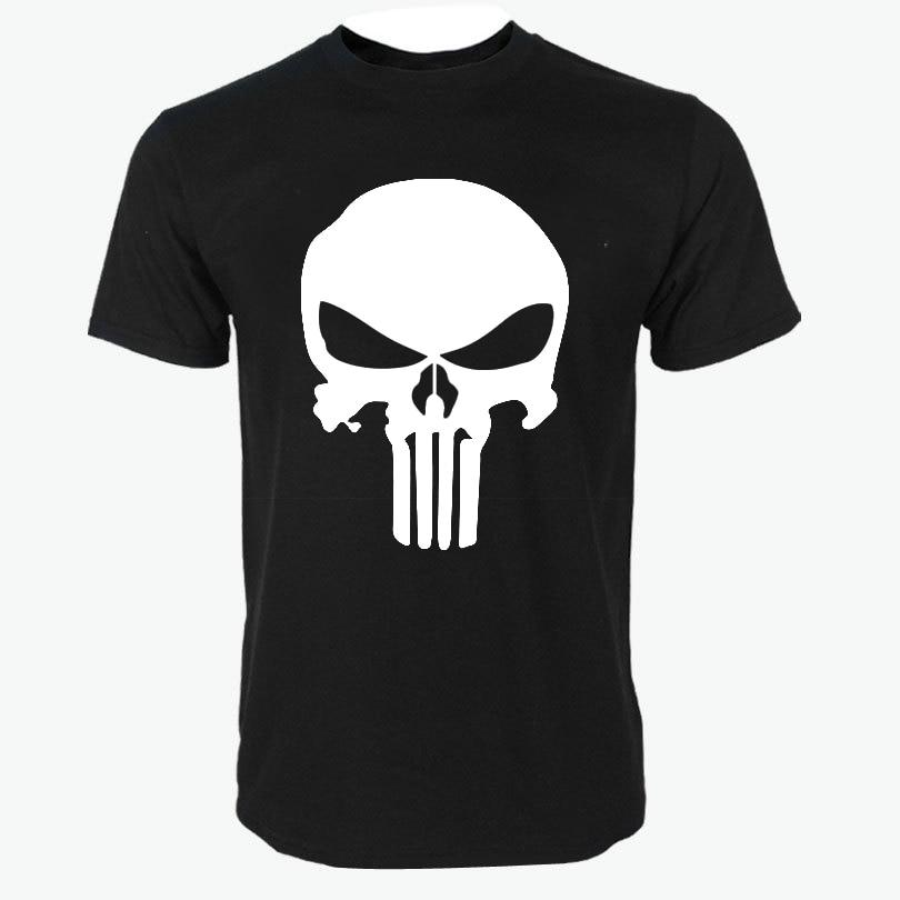 2018 punisher t shirts for men t shirt Cotton fashion brandeticdress-eticdress