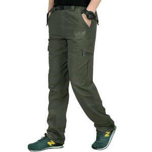 Military Pants Men Summer Quick-Drying Breathable Track Cargo Pants Male Joggers Menseticdress-eticdress