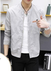 2018 New Summer Autumn Men's Jackets Fashion Casual Korean Slim Fit Thineticdress-eticdress
