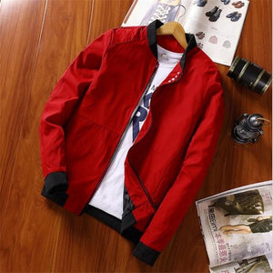Big Size 4XL Mens Spring Summer Jackets Casual Thin Male Windbreakers Collegeeticdress-eticdress