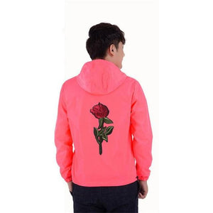 Dropshipping Suppliers Usa 2018 Spring Summer Rose Jacket For Men and Womeneticdress-eticdress